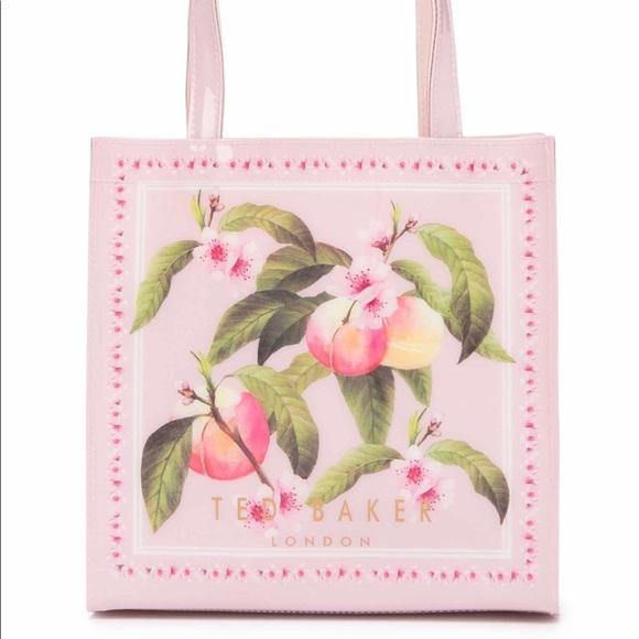 2a7d82d97cab Ted Baker Peach Blossom Small Icon Tote